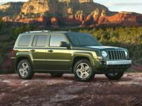 Recent Arrival! Green Metallic 2008 Jeep Patriot Sport