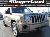 Options:  2008 Jeep Patriot Sport|Recent Arrival!