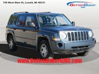 Options:  2008 Jeep Patriot Fwd 4Dr Sport|4 Cylinder