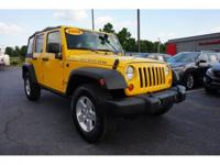 New Price! CARFAX One-Owner. 2008 Jeep Wrangler