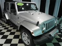 This 2008 Jeep Wrangler 4dr 4WD 4dr Unlimited Sahara