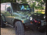 I have a 2008 hunter green jeep wrangler for sale. It's