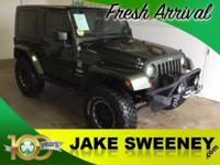 Check out our 2008 Jeep Wrangler Sahara 4x4 brought to