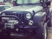 I have a 2008 Wrangler JK lifted for sale. This Jeep is
