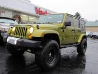 Lifted 2008 Jeep Wrangler Sahara Unlimited with 2 Tops,