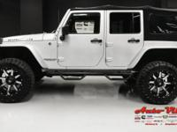 RUBICON PACKAGE, SUSPENSION LIFT, CUSTOM WHEEL FLARES