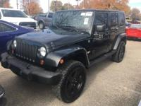 Black 2008 Jeep Wrangler Unlimited Sahara 4WD 4-Speed