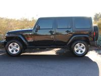 This 2008 Jeep Wrangler 4dr Unlimited Sahara features a