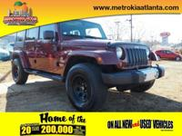 Get ready to go for a ride in this 2008 Jeep Wrangler