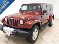This 2008 Jeep Wrangler is a very clean vehicle with
