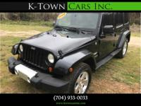 Options:  2008 Jeep Wrangler Unlimited Sahara Sport