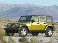 2008 Jeep Wrangler Unlimited Sahara Red 3.8L V6 SMPI