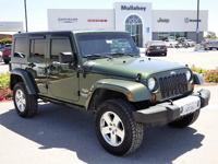 Options:  2008 Jeep Wrangler Unlimited Sahara|Take