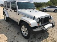 This 2008 Jeep Wrangler Unlimited Sahara 4WD at Hyundai