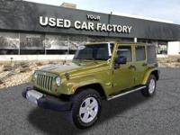 Options:  2008 Jeep Wrangler Unlimited Sahara|4X4