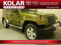 2008 Jeep Wrangler Unlimited SaharaWrangler Unlimited