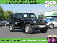 Check out this gently-used 2008 Jeep Wrangler we