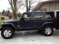 KBB.COM list 2008 Jeep Wrangler Unlimited Sahara, as