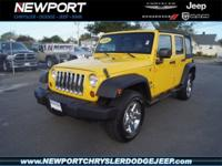 4x4! SOFT TOP! SUV! X PACKAGE! POWER WINDOWS! This