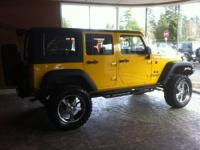 Vehicle Information:   2008 JEEP WRANGLER UNLIMITED X