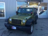 Introducing the 2008 Jeep Wrangler! Comfortable and