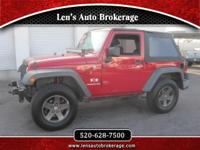 Options:  2008 Jeep Wrangler Another Wrangler Fresh In!