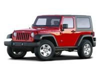 PREMIUM & KEY FEATURES ON THIS 2008 Jeep Wrangler
