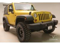This 2008 Jeep Wrangler X 4x4 is offered by Vernon Auto