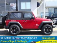 Exterior Color: flame red, Body: SUV, Engine: 3.8L V6