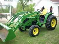 FOR SALE IS A NICE 2008 JOHN DEERE 4120 +4X4 JOHN DEERE