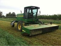 I have two 2008 John Deere 4995 Swathers for sale.