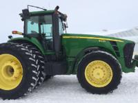 2008 JOHN DEERE 8430, Exterior: Green, Interior: Black,