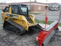 2008 John Deere CT322 This track machine has an