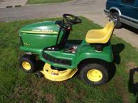 LT155 John Deere lawn mower with Hydrostatic Drive and