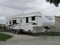 2008 K-Z New Vision Sportster 38SB Toy Hauler This