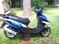 2008 Kaito Velocity 150cc mcy. ready to go needs