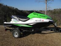 2008 KAWASAKI JET SKI ULTRA 250X WATERCRAFT. THIS JET