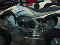 I have a 2008 kawasaki kfx 450 atv. It is fuel
