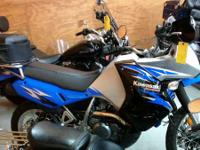 2008 Kawasaki KLR650 Go anywhere with this excellent