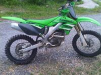 2008 Kawasaki KX250F for sale - One owner bought brand
