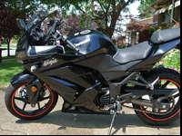 2008 Kawasaki Ninja 250 for sale. The bike has never