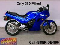 2008 Kawasaki Ninja 250 Sport Bike for only $2,599.00!!