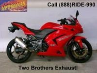 2008 Kawasaki Ninja 250 - Sport bike for sale. Mean,