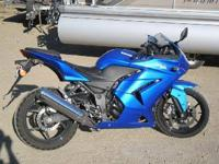 Stock # 4228 2008 Kawasaki Ninja 250cc Up for auction