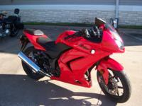 For sale is a 2008 Ninja 250R with 625 miles. I simply
