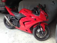 2008 Kawasaki Ninja 250R. This bike is in excellent