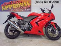 2008 Kawasaki Ninja 250R crotch rocket for sale only