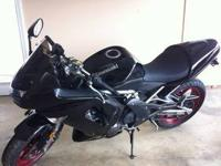 For Sale is a 2008 Kawasaki Ninja 650R. Bike is in