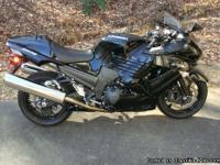 2008 Kawasaki ZX14. This bike has very low miles (