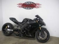 Kawasaki ZX-10R with only 3,262 miles !! This bike is